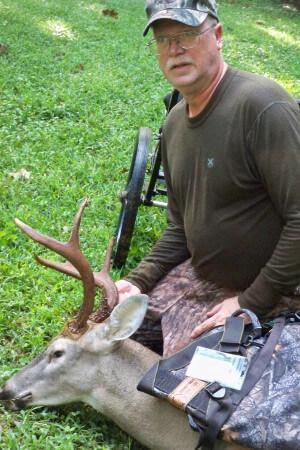 chuck rugar first deer 1