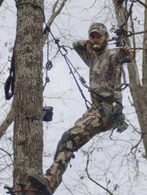 new bobby in tree best 800 1 300x397 tree hunting system by aero hunter